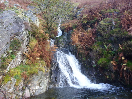 Waterfall, Birkside Gill